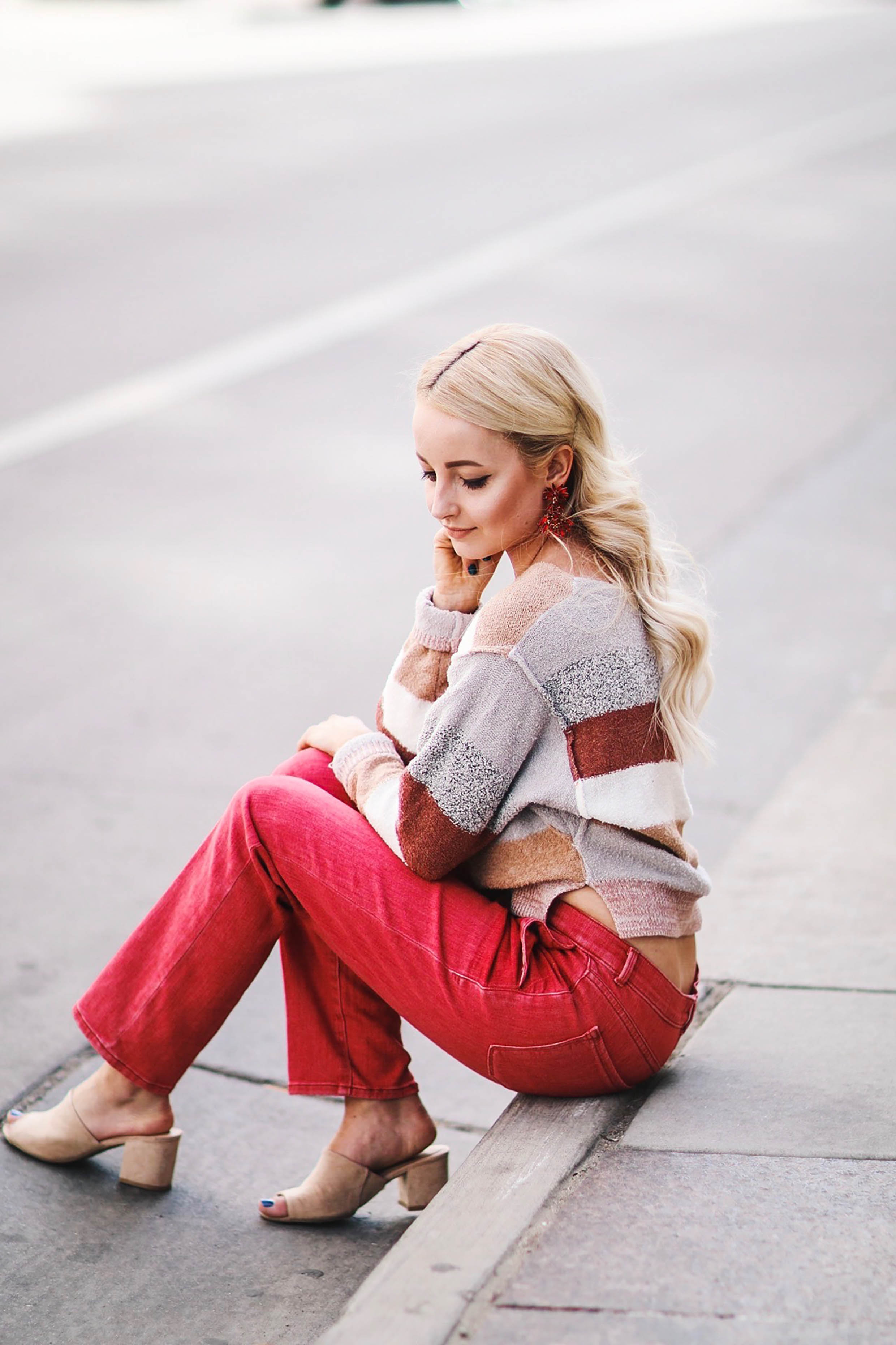 HOW TO STYLE RED PANTS WITH SHOP REBEL BOUTIQUE